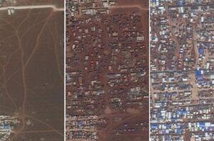 تصاویر ماهوارهای از حجم ویرانی استان ادلب