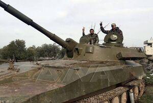 پاسخ کوبنده ارتش سوریه به تحرکات عناصر مسلح در مناطق شمالی استان درعا + نقشه میدانی و عکس