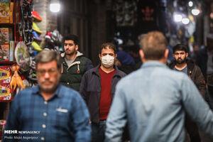 """عکس/ حال و هوای""""بازار تهران""""در روزهای کرونایی"""