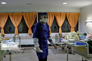 عکس/ بخش بیماران کرونایی در بیمارستان کوثر سمنان