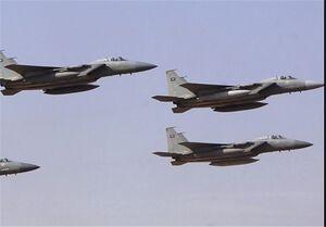 تجاوز جنگندههای سعودی به الجوف و صنعاء