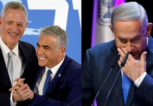 رژیم اسرائیل|رقیبان نتانیاهو برای نخست وزیر نشدن وی چه میکنند؟