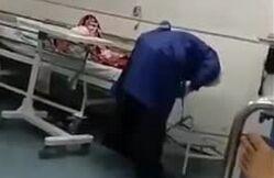 فیلم/ خدمت جهادی یک طلبه از نگاه دوربین یک بیمار کرونایی