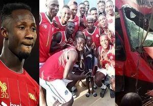 مرگ 8 فوتبالیست گینهای در سانحه رانندگی+عکس