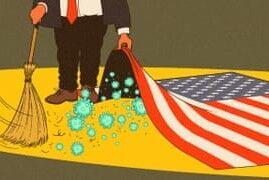 ترامپ: اقتصاد آمریکا ممکن است به دلیل کرونا وارد رکود شود