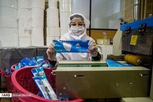 عکس/ کارگاه تولید «ماسک نانو»