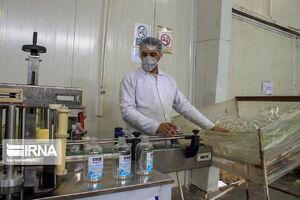 تولید محلول و ژل ضدعفونیکننده در ارومیه