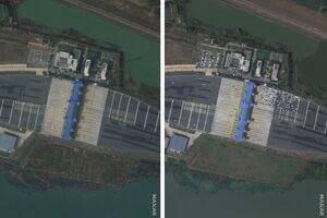 تصاویر ماهوارهای قبل و بعد از کرونا