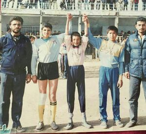 نوستالژی/ عکسی زیرخاکی از نوجوانی غلامرضا عنایتی!