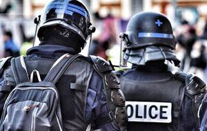 فیلم/  شانزه لیزه در قُرُق پلیس
