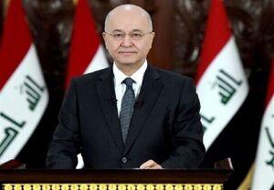 برهم صالح: همواره قدردان ایران هستیم