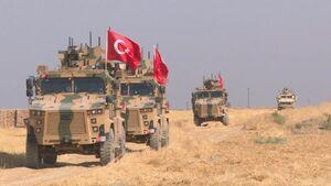 فرصتطلبی ترکیه از توافق آتشبس برای جبران شکست  تروریست ها/ ورود ۴۰۰ تانک، خودروی نظامی و نفربر به مناطق اشغالی شمال غرب سوریه + نقشه میدانی و عکس