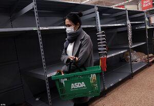 عکس/ شیوع ویروس کرونا در بریتانیا