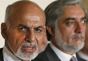 افغانستان| واکنش طالبان به برگزاری مراسم تحلیف اشرف غنی و عبدالله