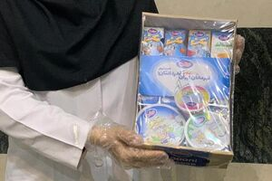 توزیع پک هدیه شیر و فرآورده های لبنی میهن در بیمارستانهای تهران