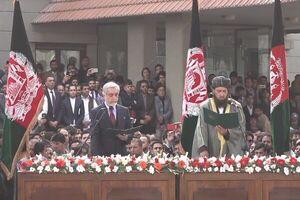 غنی و عبدالله، به عنوان روسای جمهور افغانستان سوگند یاد کردند