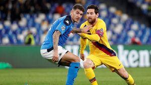 سایه سنگین کرونا بر بازی بارسلونا و ناپولی