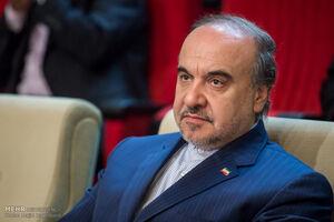 وزیر ورزش و جوانان مسعود سلطانیفر