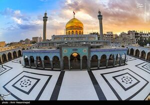 تدابیر ویژه بهداشتی در حرم مطهر حضرت زینب (س)