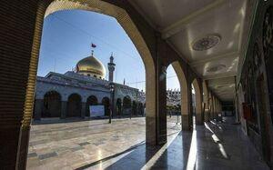 تصویری زیبا از مرقد مطهر حضرت زینب (س)