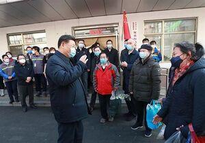 رئیس جمهور چین به ووهان سفر کرد