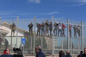 فیلم/ فرار زندانیها از ترس کرونا!