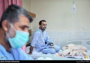 بخش ویژه بیماران کرونا در بیمارستان بقیة الله (عج)