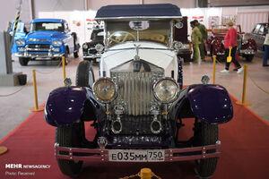 عکس/ نمایشگاه ماشینهای کلاسیک در مسکو