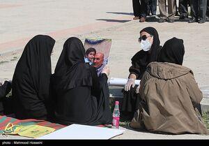 عکس/ مراسم خاکسپاری معاون اسبق اداره سیاسی سپاه