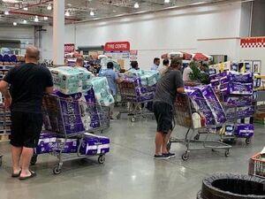 هجوم مردم استرالیا برای خرید دستمال توالت