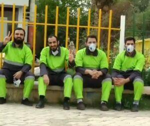 یک کار خوب توسط طلبههای خوزستانی +عکس