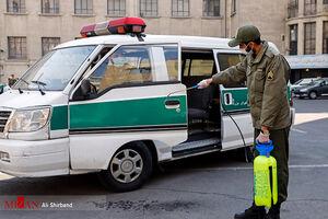عکس/ ضدعفونی کلانتریهای پایتخت