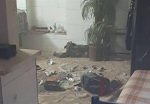 انفجار خونین موادمحترقه در جنوب تهران +تصاویر