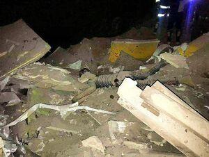 حمله آمریکا به مواضع حشدالشعبی/ فرودگاه در دست احداث کربلا بمباران شد+ عکس و فیلم