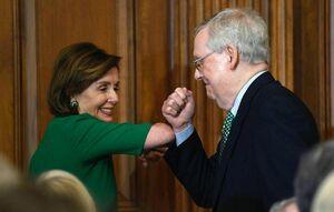 پیشگیری از کرونا در مجلس سنای آمریکا