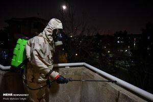 عکس/ بسیج مردمی برای ضد عفونی اماکن عمومی