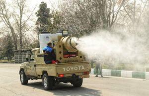 رونمایی از خودروهای جدید رفع آلودگی نیروی زمینی ارتش