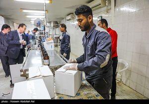 عکس/ تولید مواد ضدعفونی کننده در خرمشهر