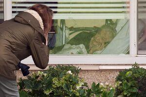 شیوع کرونا در یک خانه سالمندان