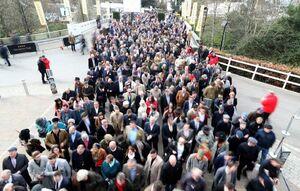 """ازدحام شرکتکنندگان در فستیوال سالانه اسب سواری """"چنتلهام"""" بریتانیا"""