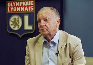 رئیس باشگاه لیون خواهان پایان لیگ شد