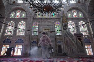 ضدعفونی مساجد ترکیه