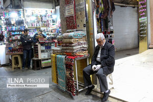عکس/ روزهای خلوت بازار تهران