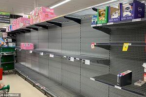 غارت سوپرمارکتهای استرالیا توسط مردم وحشتزده از کرونا + تصاویر