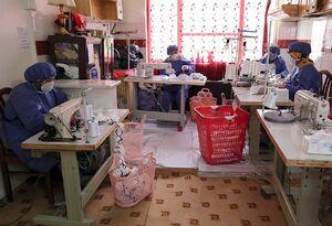 تولید روزانه ۵۰ هزار ماسک با حمایت بنیاد برکت