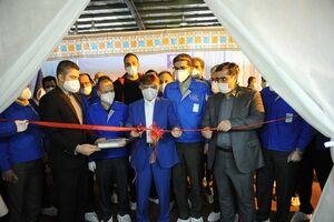 افتتاح خط تولید ماسک تنفسی توسط ایرانخودرو