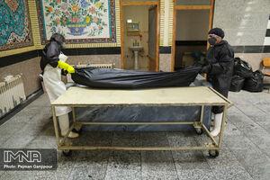 عکس/کفن و دفن متوفیان ویروس کرونا