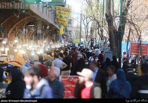 بازار تهران در روزهای پایانی سال