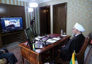 روحانی: دولت با همه توان در کنار پرسنل خدوم بخش بهداشت و درمان است