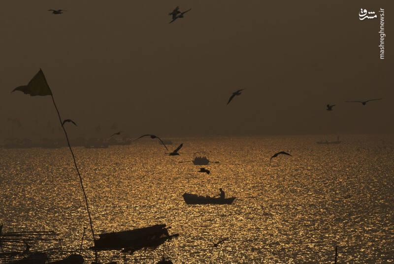 رودخانه گنگ هندوستان